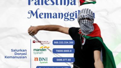Muhammadiyah Jawa Barat Instruksikan Gerakan Kencleng Jumat untuk Palestina