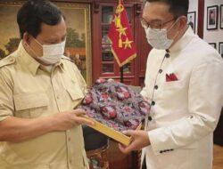 Ridwan Kamil Menemui Prabowo, Ada Apa??