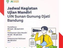 Hari Pertama Dibuka Pendaftaran Mandiri UIN Bandung, Ini Syarat dan Cara Daftarnya