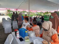 Stok Vaksin di Dinkes Kota Sukabumi Menipis