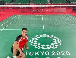 Twitter Berdebar, Ginting Sukses Melaju ke Semi Final Olimpiade Tokyo