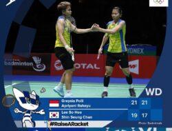 Indonesia Catat Sejarah Baru, Greysia/Apriyani Lolos Babak Final Olimpiade Tokyo 2020