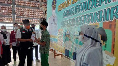 Pemkot Sukabumi Mulai Gelar Vaksinasi Perdana untuk Usia 12-17 Tahun