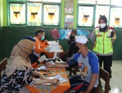 Gerai Vaksinasi Polres Sukabumi Kota Mulai Digencarkan ke Permukiman