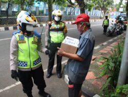 Sadarkan Pentingnya Prokes, Polres Sukabumi Kota Gelar Patroli bermotor