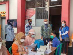 Vaksinasi Covid Mulai Sasar Warga Binaan di Lapas Sukabumi