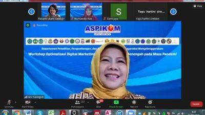 ASPIKOM Korwil Jabar Gelar Webinar Optimalisasi Digital Marketing bagi Pelaku Usaha di Masa Pandemi