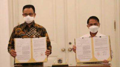 Bantu Percepatan Ekonomi Nasional, Gubernur Anies Jalin Kerja Sama dengan Pemkab Blitar & Gorontalo