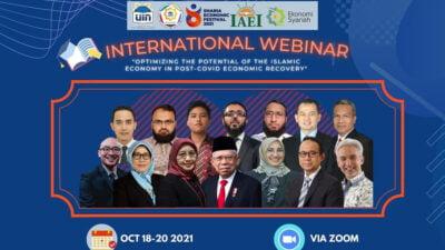 Himpunan Mahasiswa Ekonomi Syariah FEB UIN Jakarta Gelar Festival Ekonomi Syariah Internasional secara Virtual